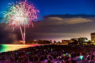Venice Fourth of July fireworks