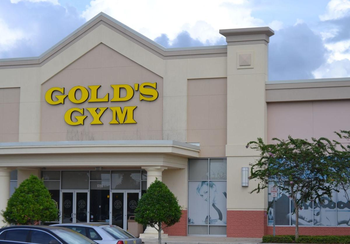 Golds Gym at early afternoon