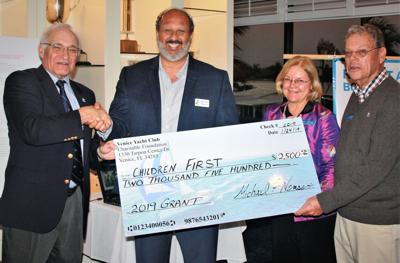 Children First President and CEO Phillip Tavill receives grant