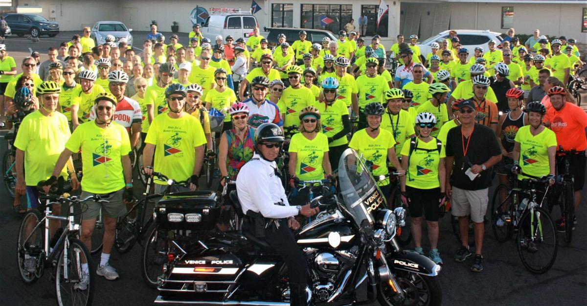 Officer Freeman and 120 bicyclists