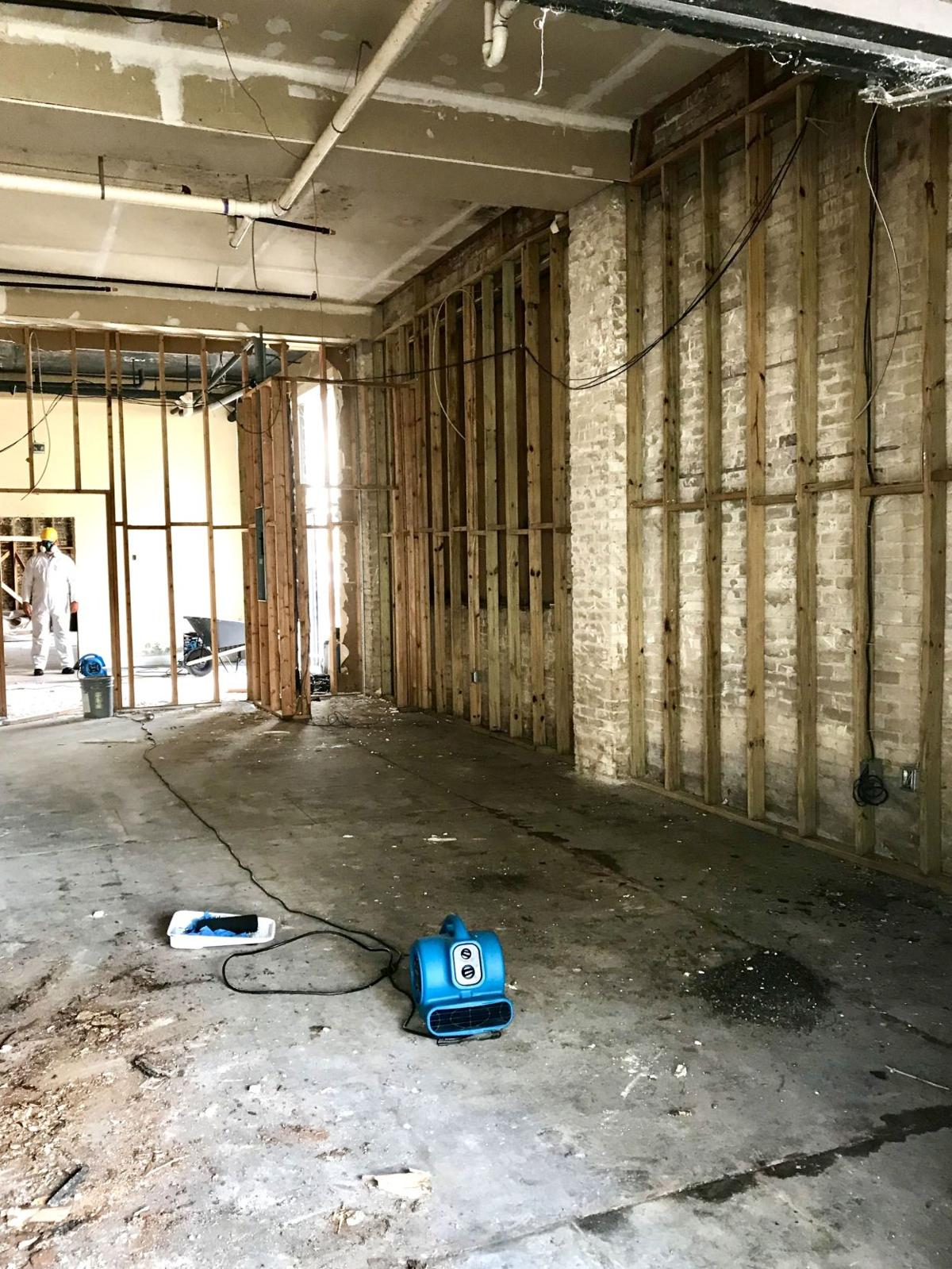 Brickell Building mold removal