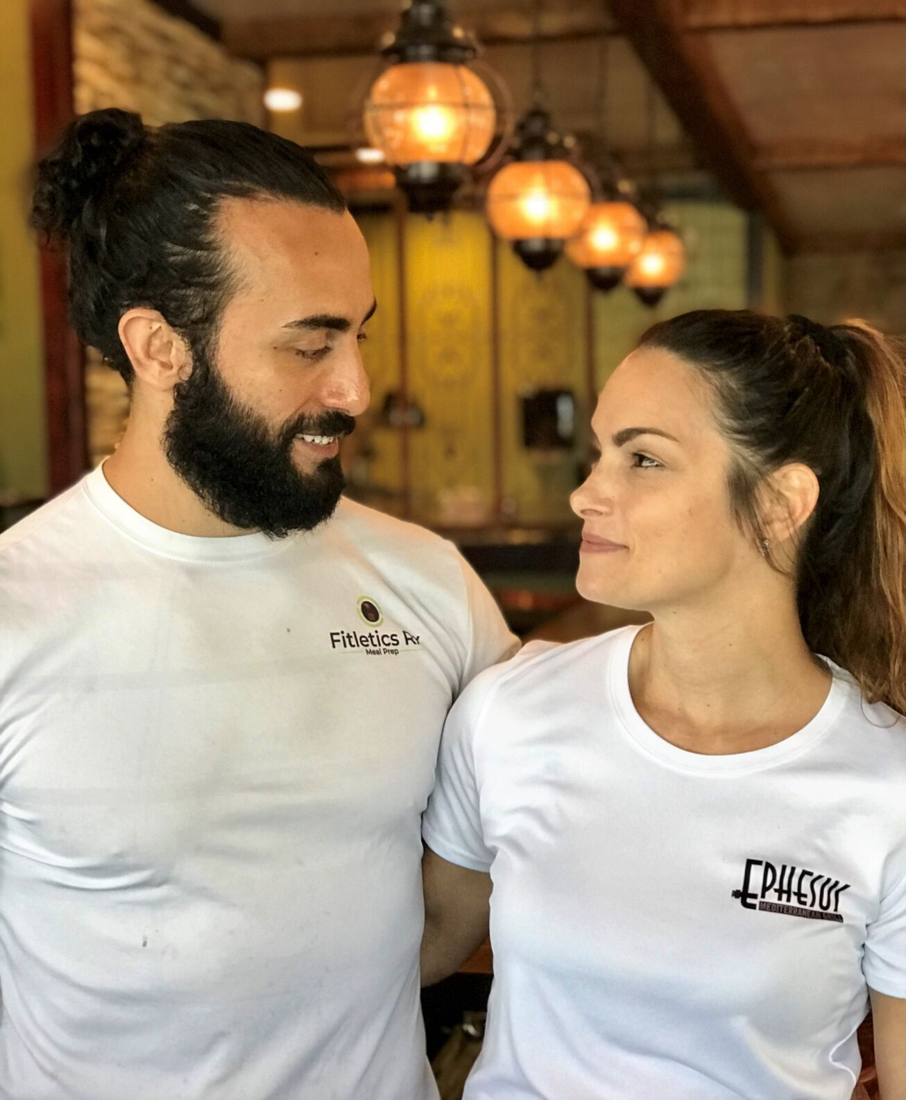 Chef Burak Cakir and his wife, Michelle Cakir