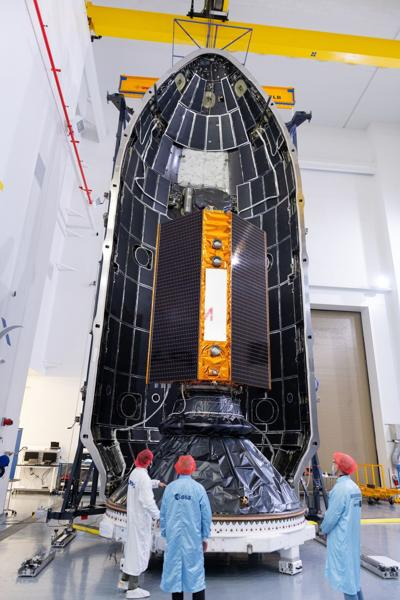 US Europe Satellite Mission