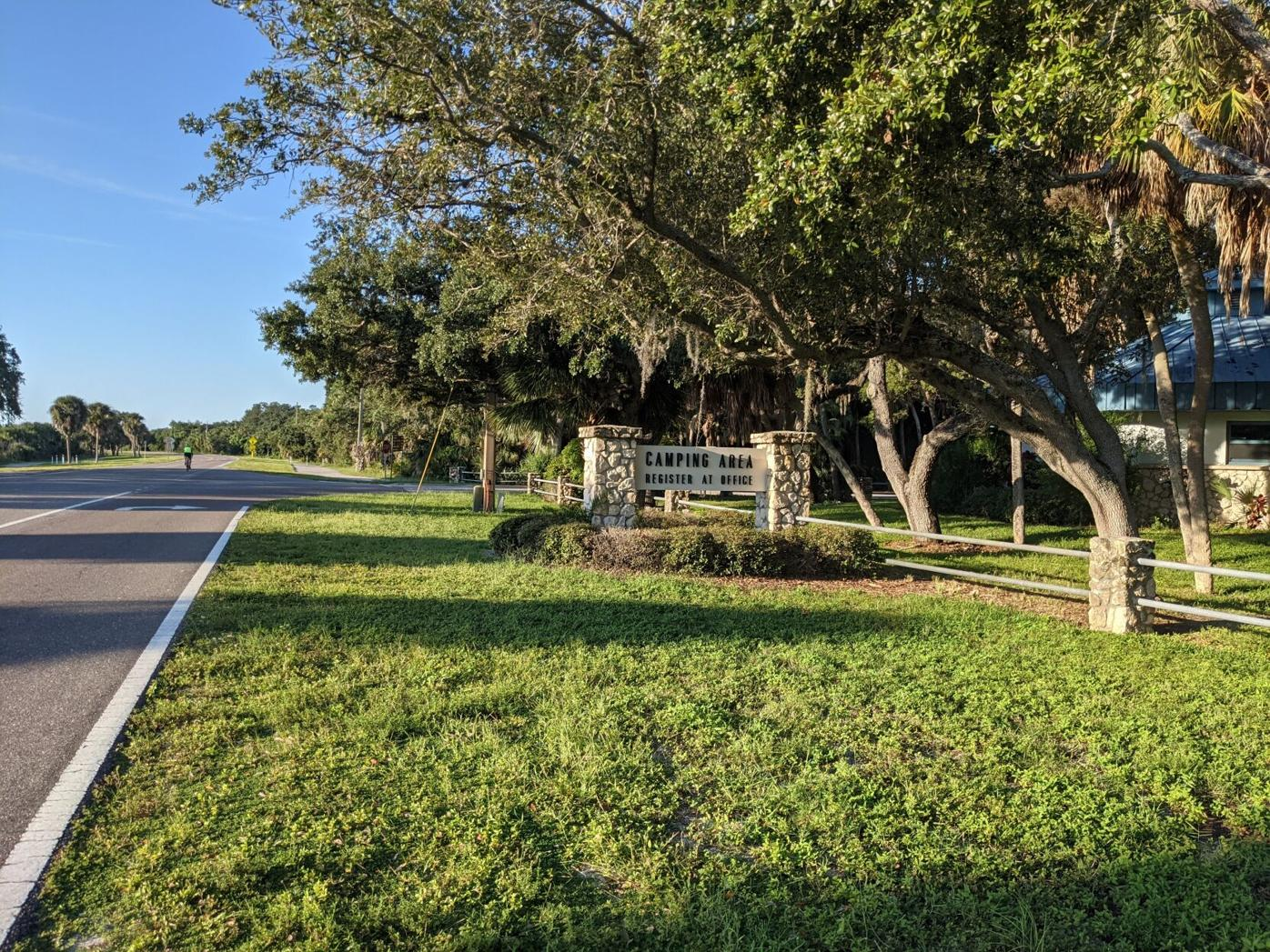 Fort DeSoto Camping Area
