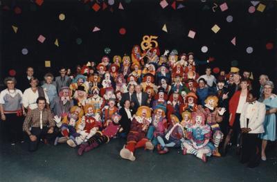 Clown College class of 1985.