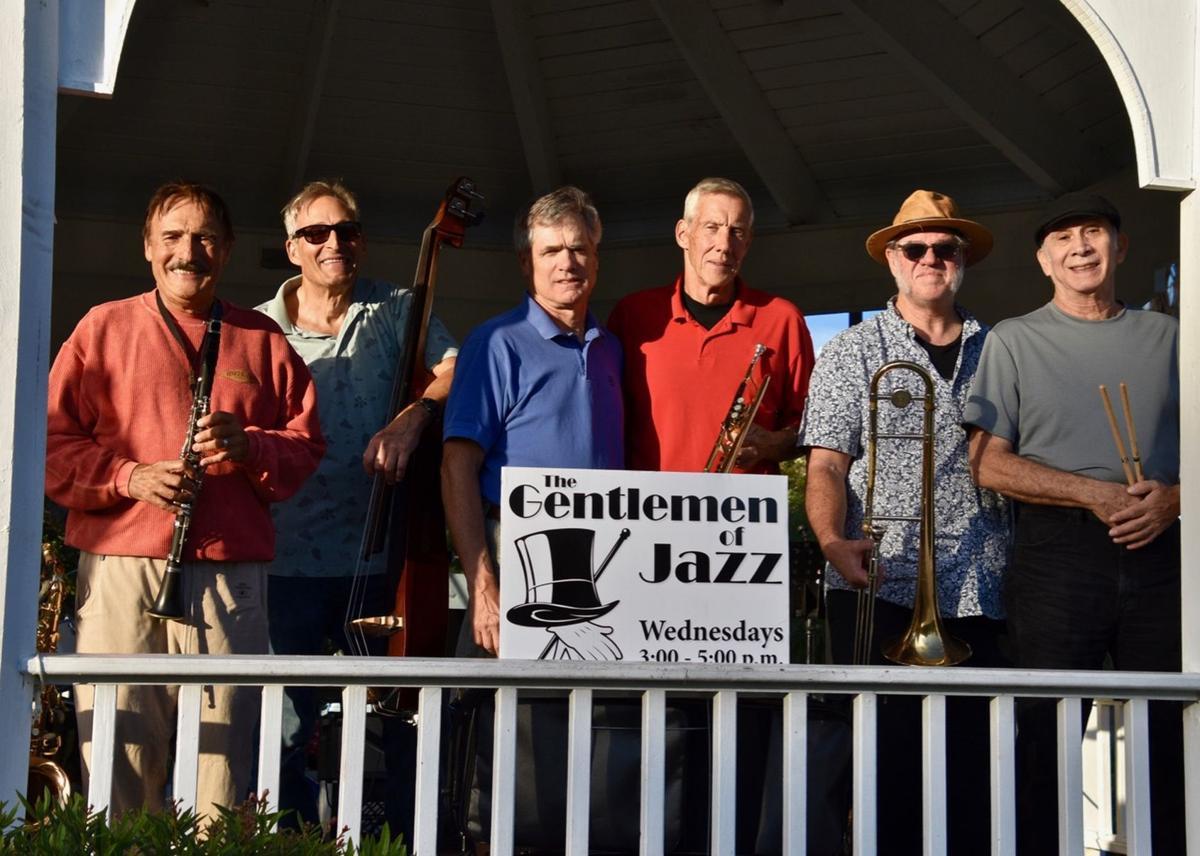 Gentlemen of Jazz play the Gazebo every Wednesday