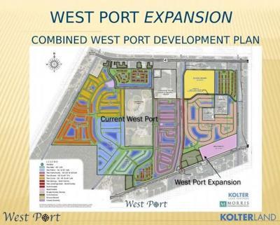 West Port Expansion layout