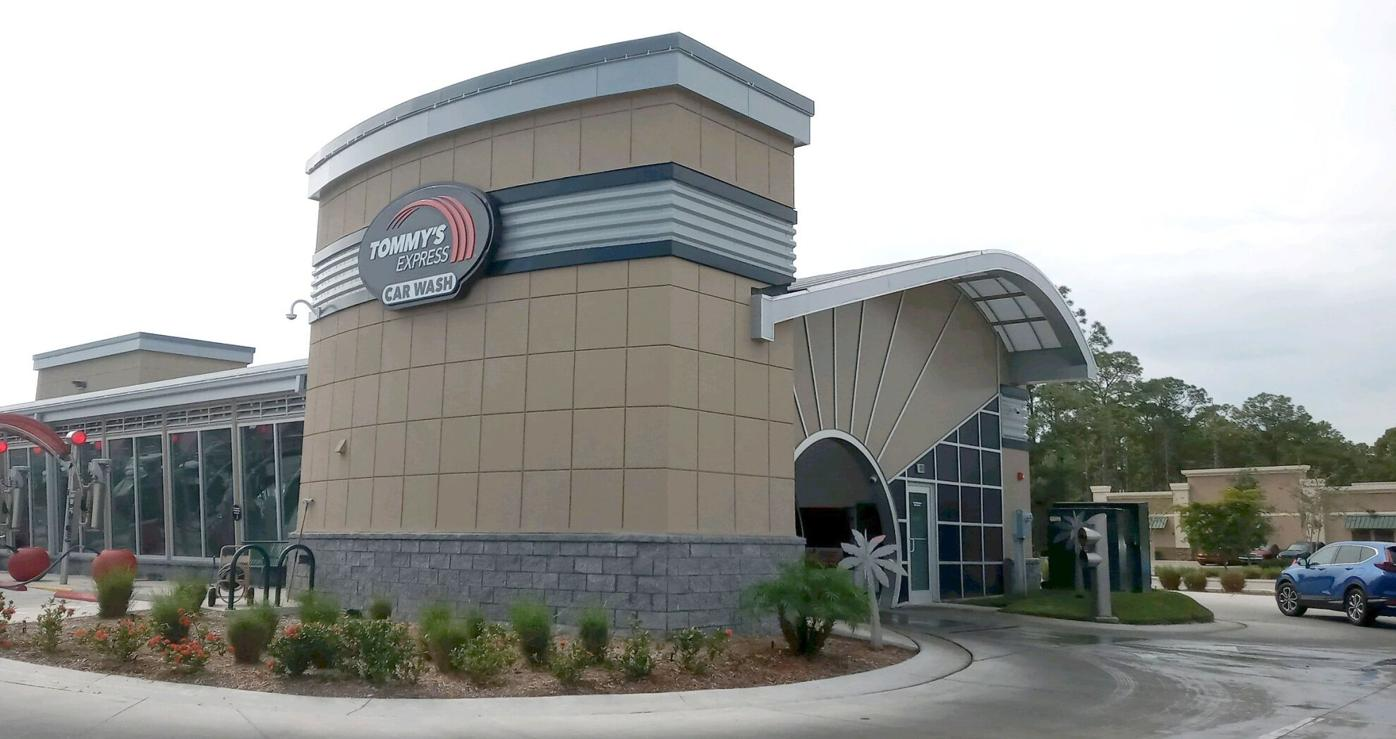 Tommy's Express Car Wash opened last summer