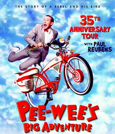 Pee-Wee's Big Adventure 35th Anniversary Tour with Paul Reubens at Tampa Theatre