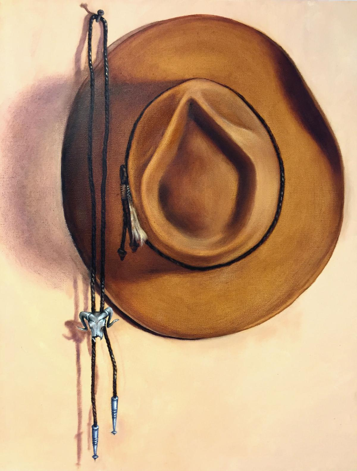 Painting by Marge Carney