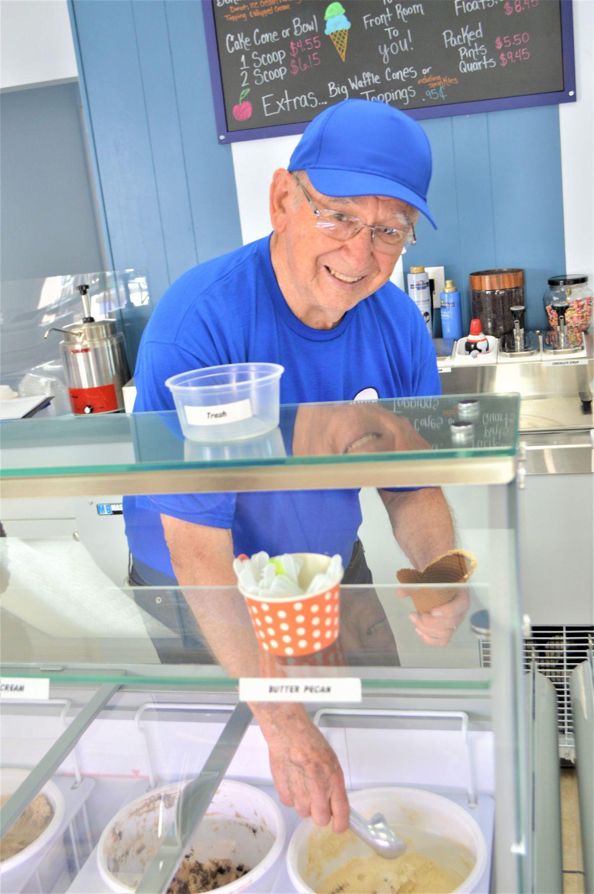 Siesta Creamery offers traditional ice cream with original recipes