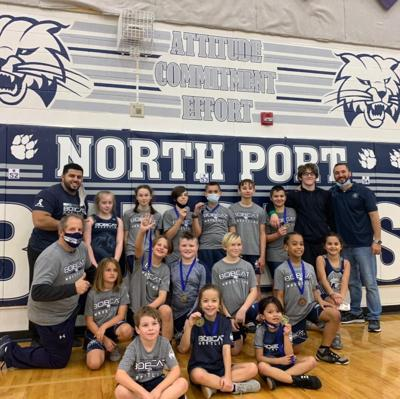 North Port youth wrestlers