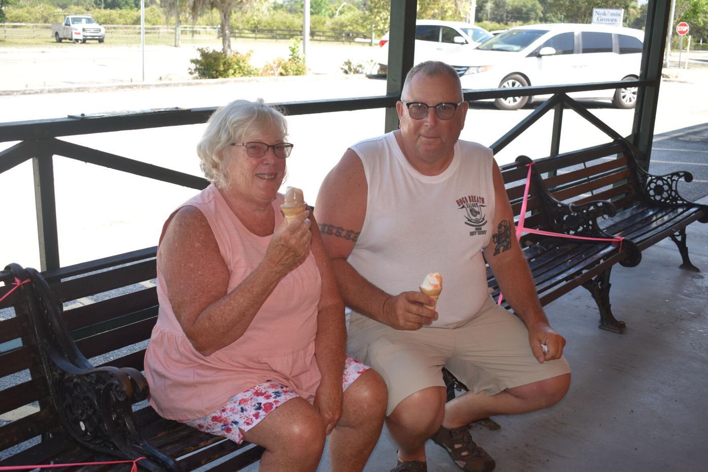 Nadine and Roy