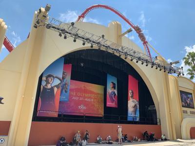 Universal Studios and Tokyo Olympics