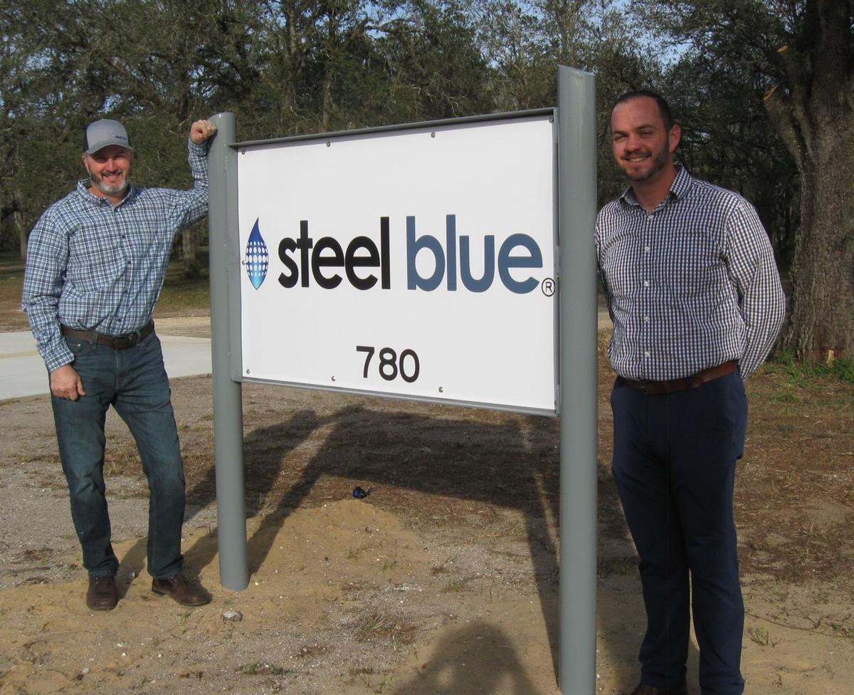 Steel Blue Fabrication
