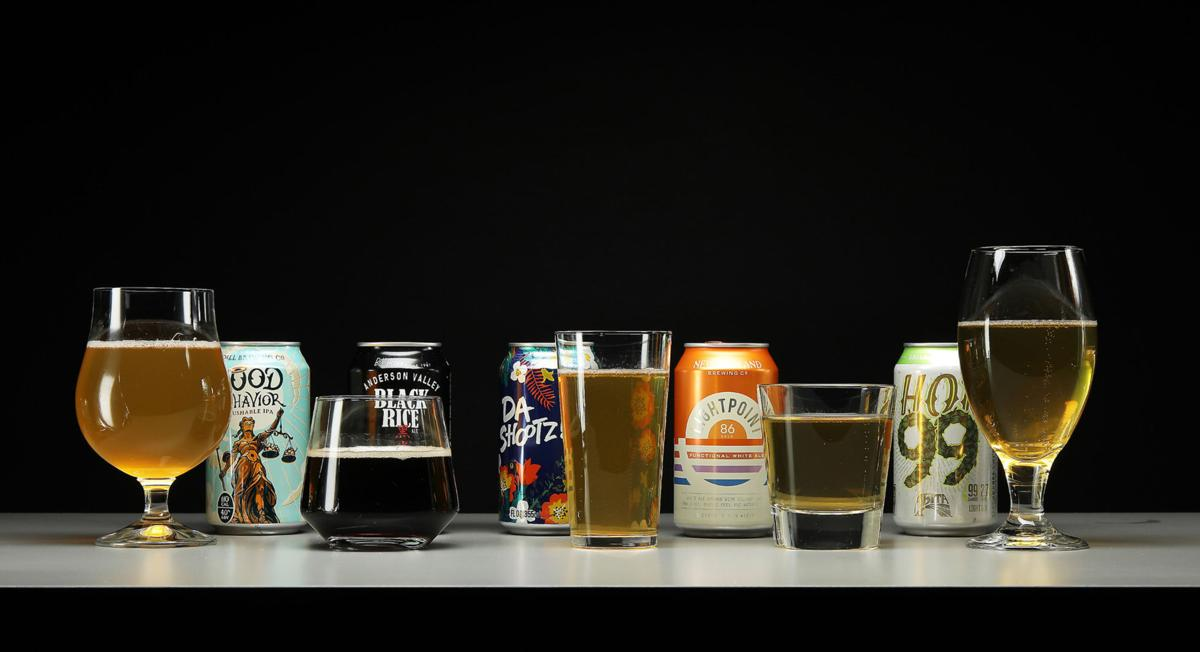 Selection of low-cal beer