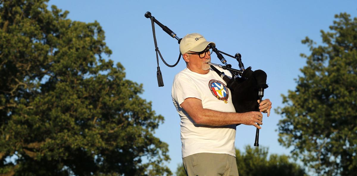 Texas bagpiper joins others worldwide to lift spirits during pandemic