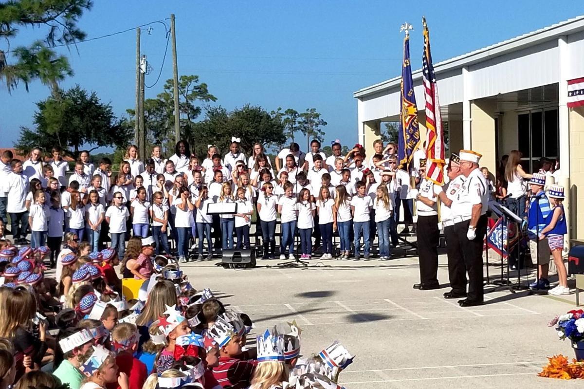 Cracker Trail Elementary Veterans Day