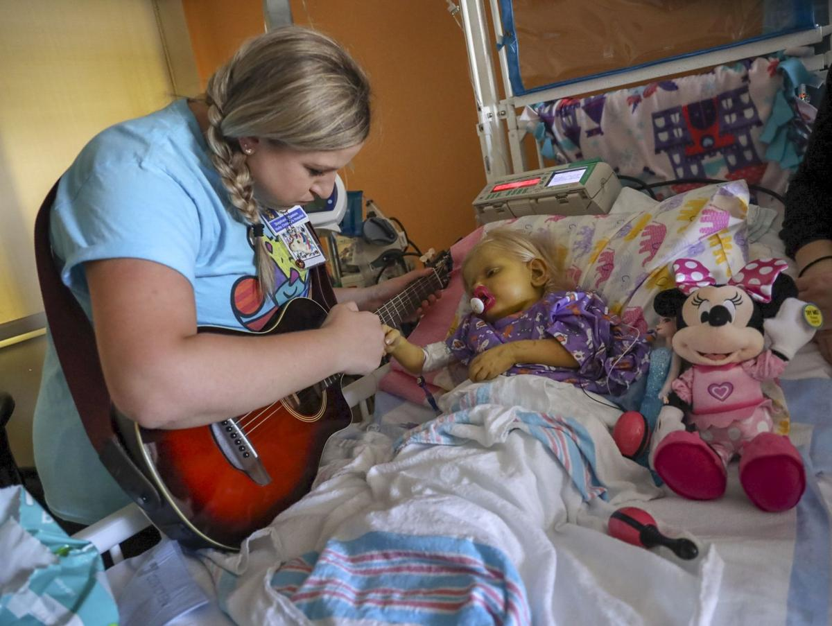 Children's hospital uses music therapy to reduce sedation for kids