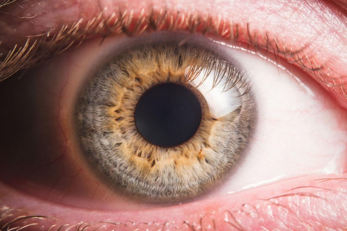 Bacteria live on our eyeballs
