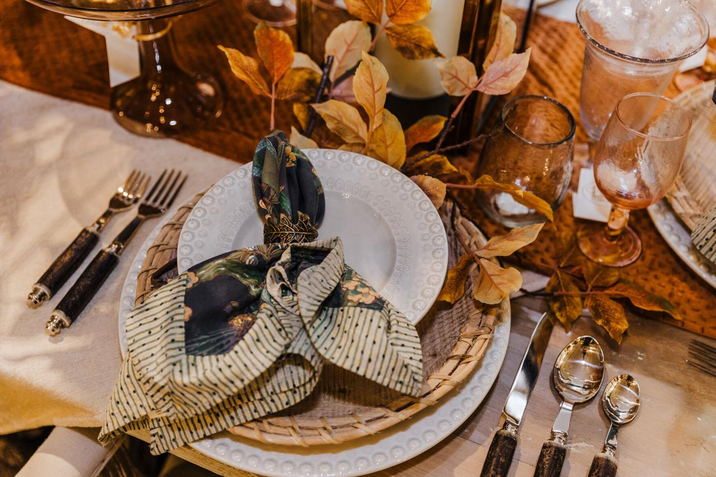 Placemats and napkins