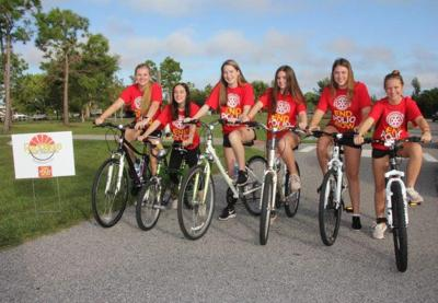 Pedaling for Polio Research