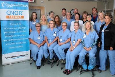Fawcett Memorial Hospital receives CNOR Strong recognition