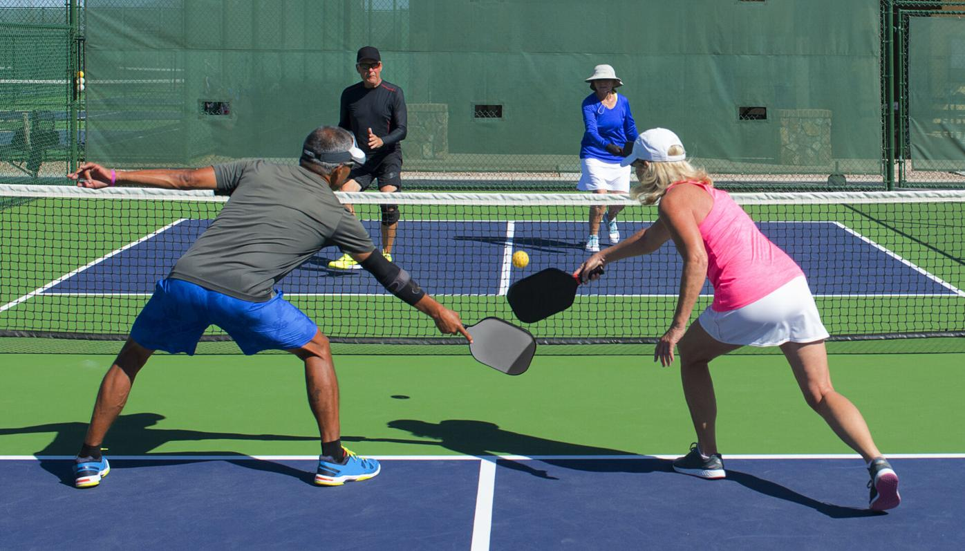 Pickleball: A sport with a lot of juice