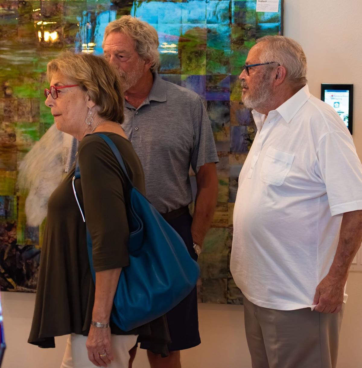 Model home opens door for local artists