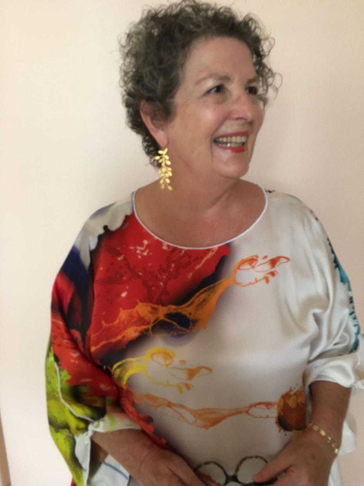 Kate Holmes portrays the late Bertha  Palmer