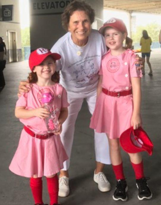 Sue and nieces