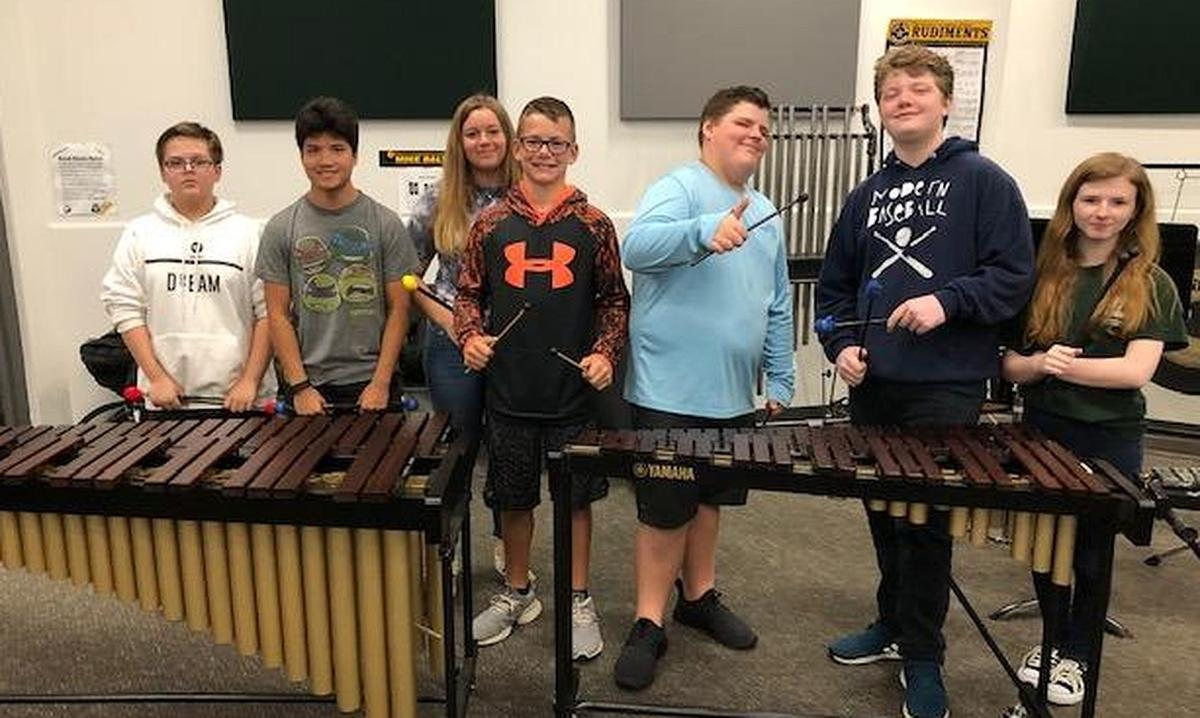 Venice Middle School Band students