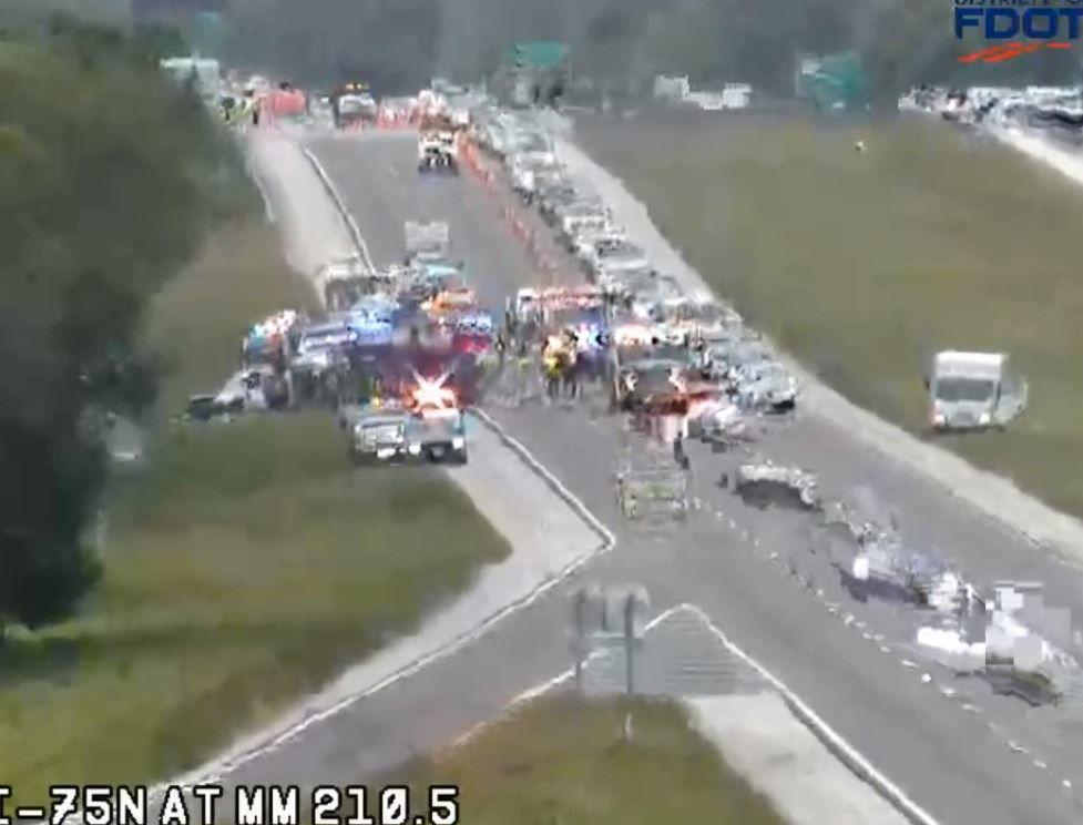 I-75 crash March 9, 2020