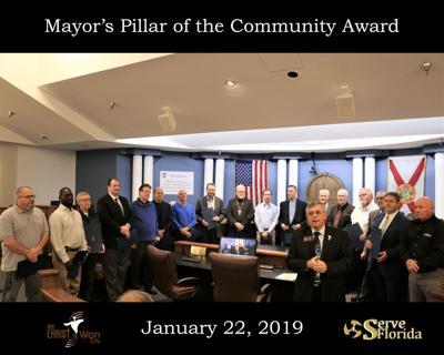 Ministers receive Pillar of the Community Award