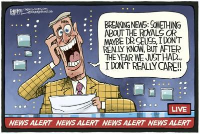Breaking News by Rick McKee