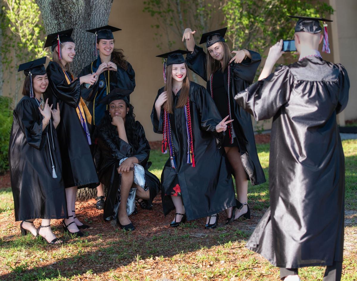 Selfies for PCHS graduation