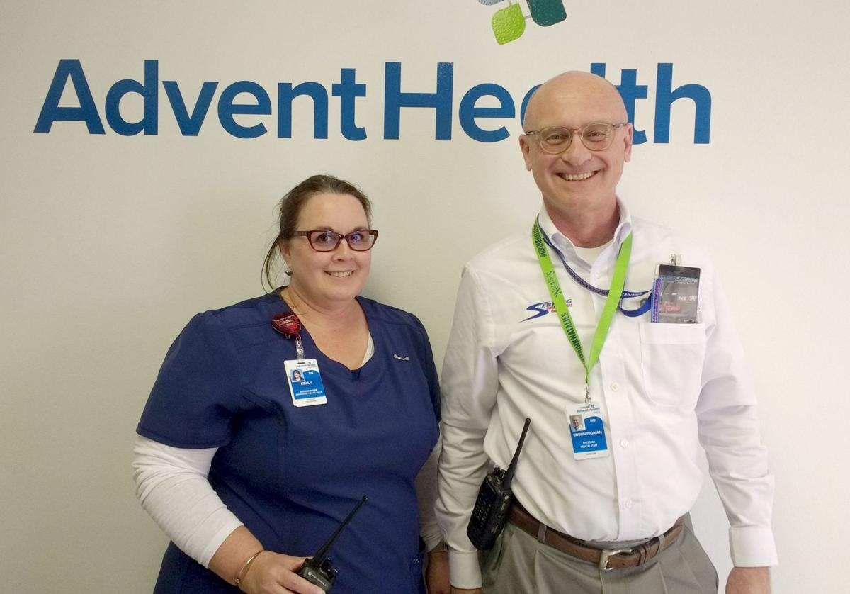 AdventHealth provides fast care for the drivers of fast cars at the