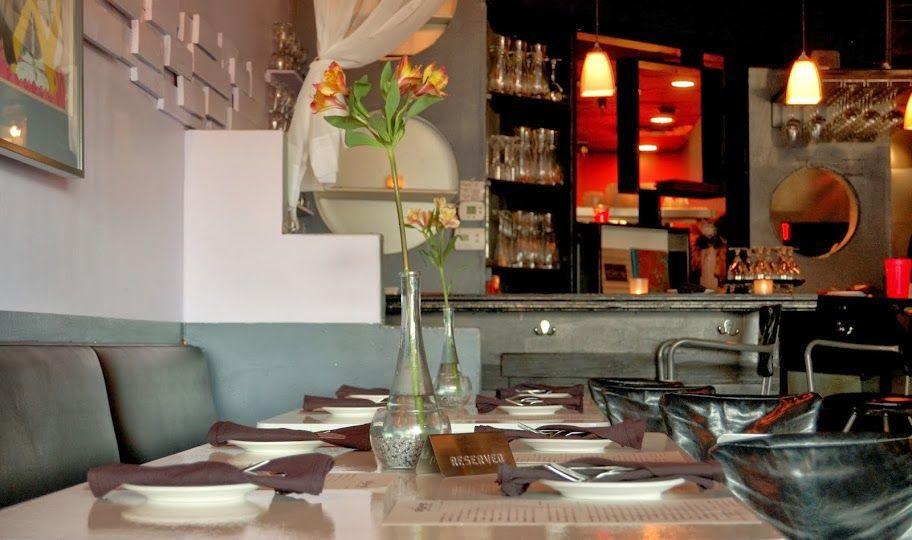 """Modern American"" cuisine at Melange"