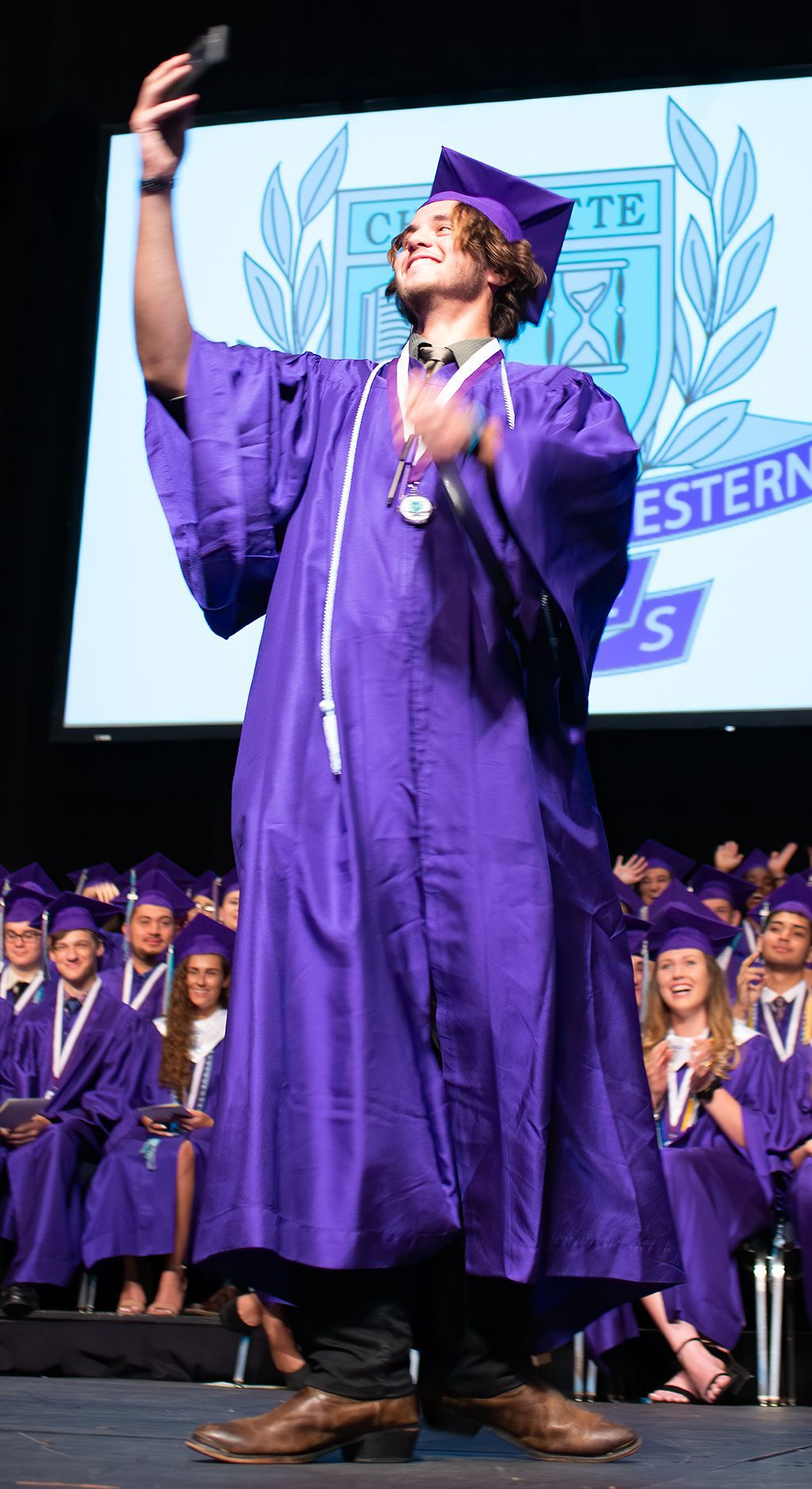 Florida Southwestern Collegiate High School Class graduation