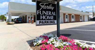 front of Farley Funeral Home