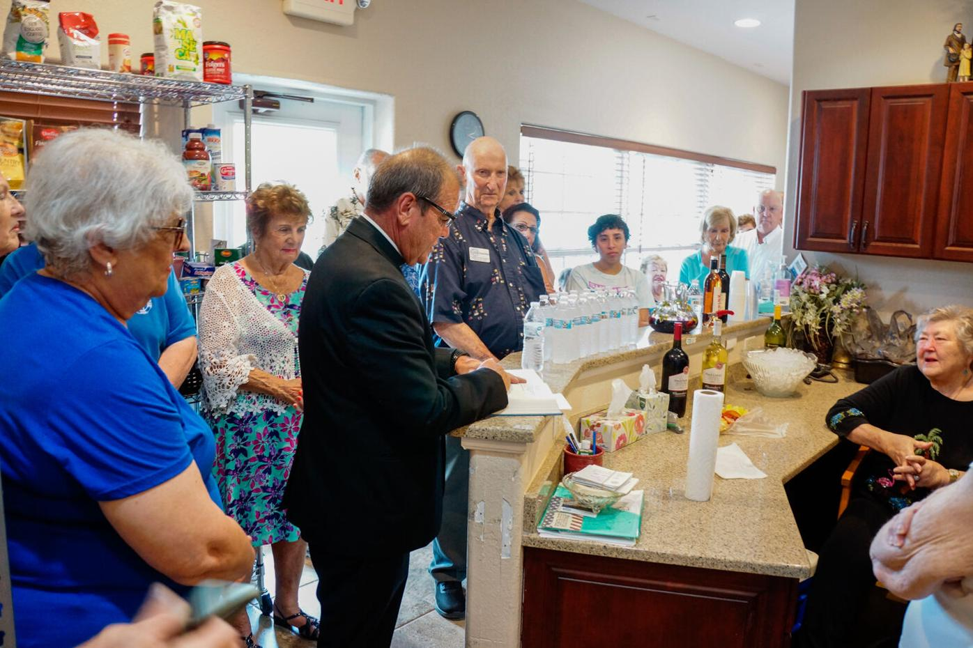 Local food pantry reopens after flood
