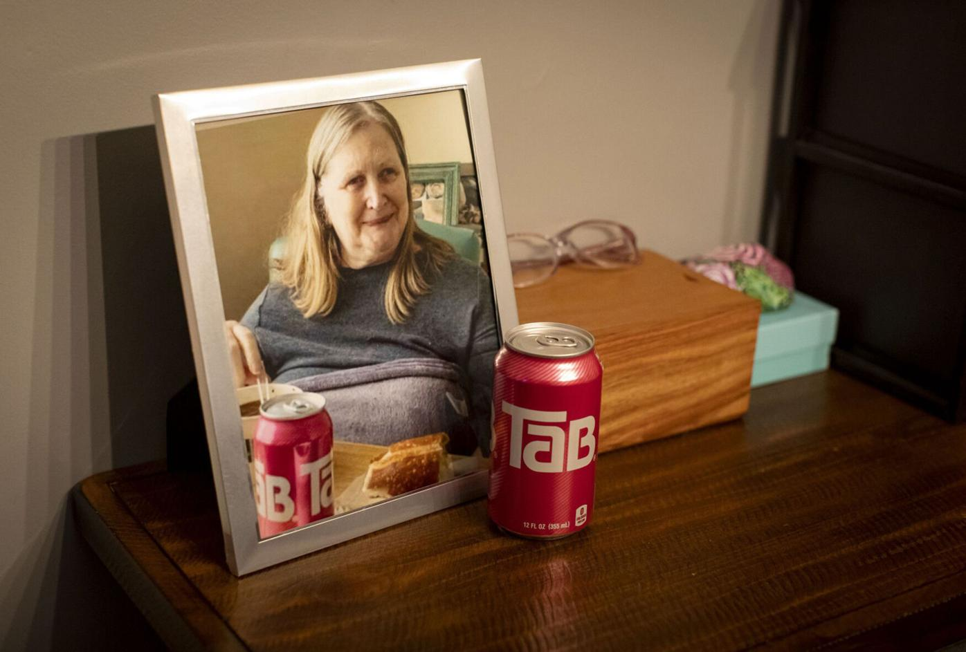 After their mom died from COVID-19, her kids give a final toast with a beloved, hard-to-find token of her youth: Tab diet soda