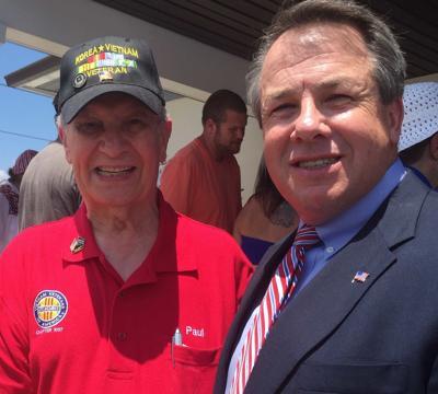 Mayor Shoop photo with VVA