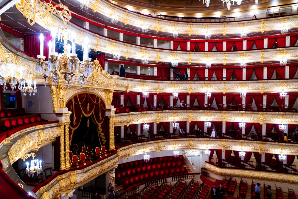 Interior of the Bolshoi Theatre