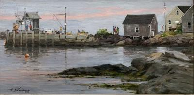 Painting accepted for Biennial national Exhibition
