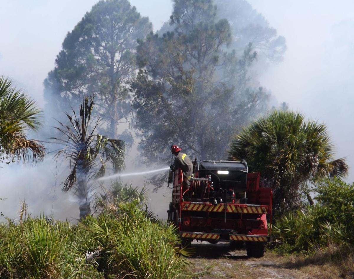 Firefighters back at San Casa for brush fire   News ...