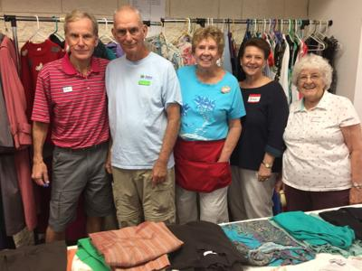 Volunteers made many sales