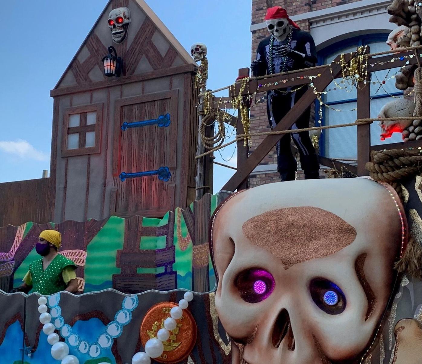 Floats but no parade