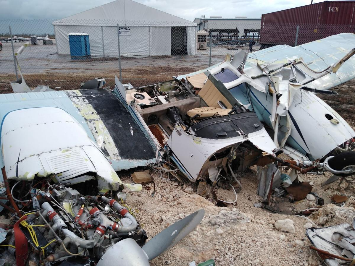 Destruction in Bahamas