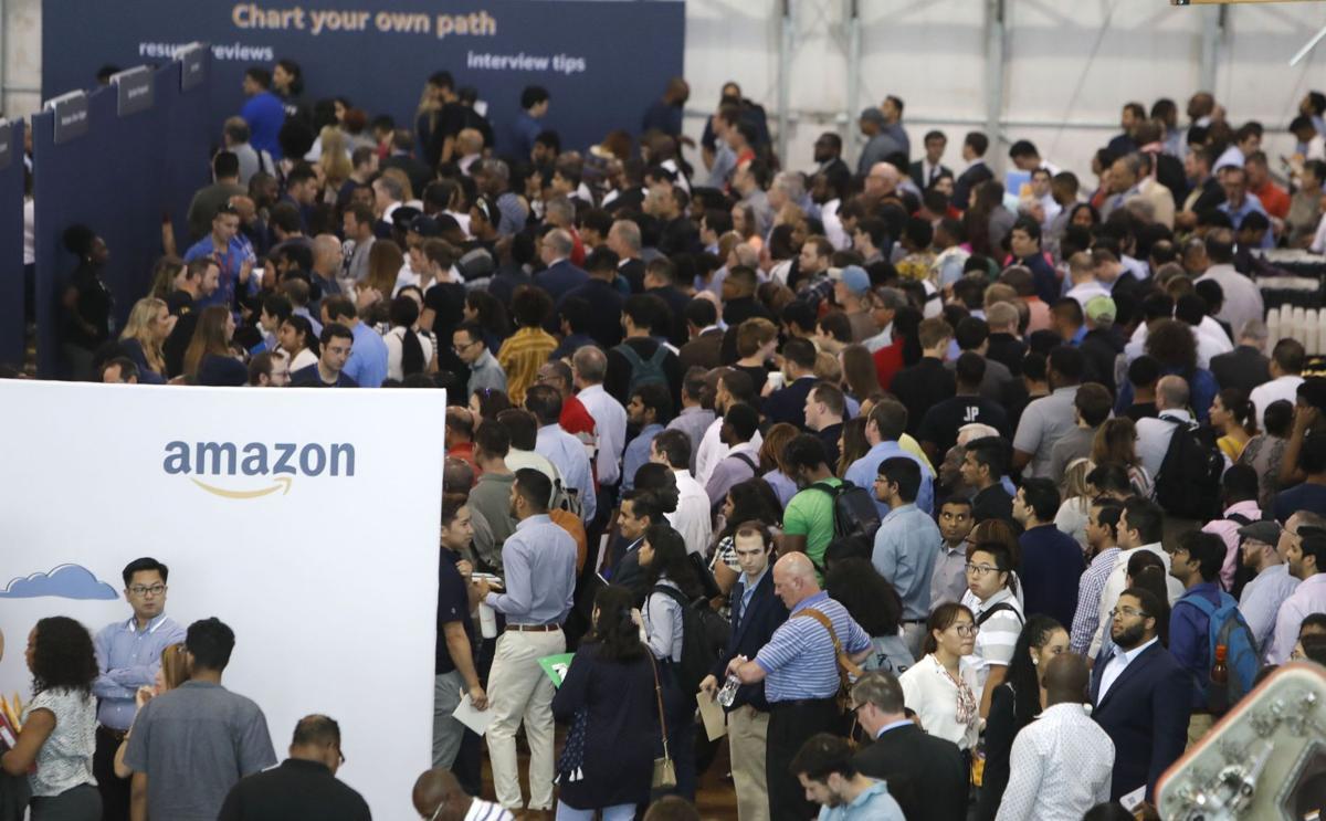 Amazon job fair